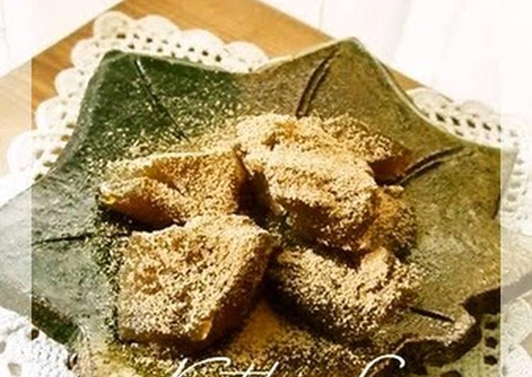 Recipe of Super Quick Homemade Warabi Mochi