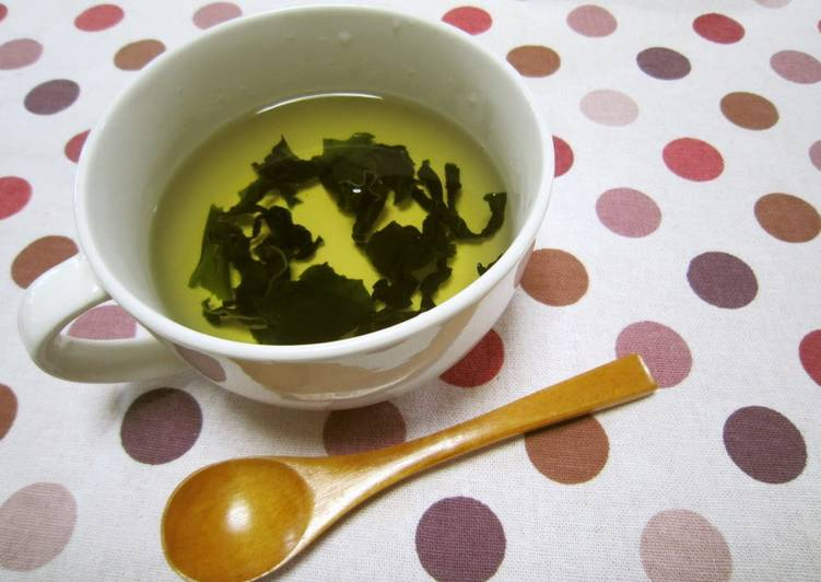 Recipe of Any-night-of-the-week Easy Shiro-Dashi Clear Soup