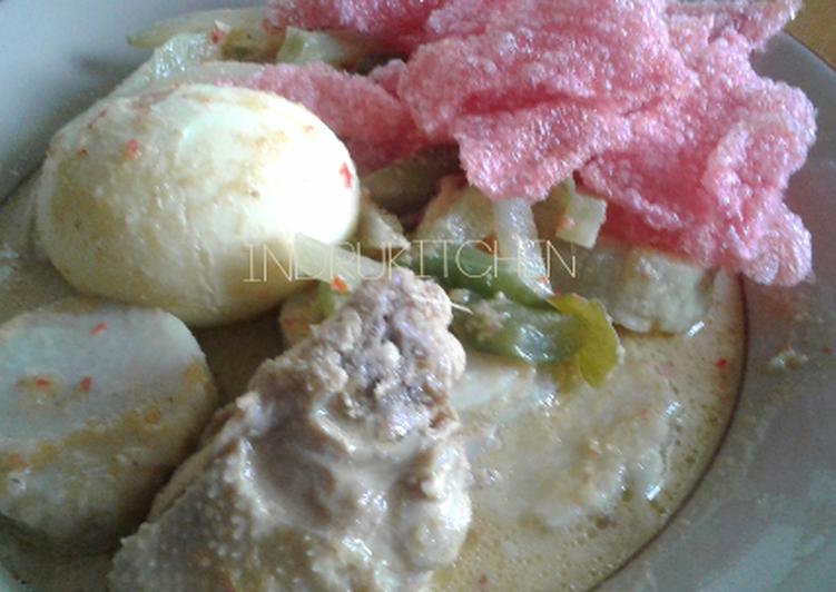 Resep Lontong Sayur Padang Oleh Indria Cookpad