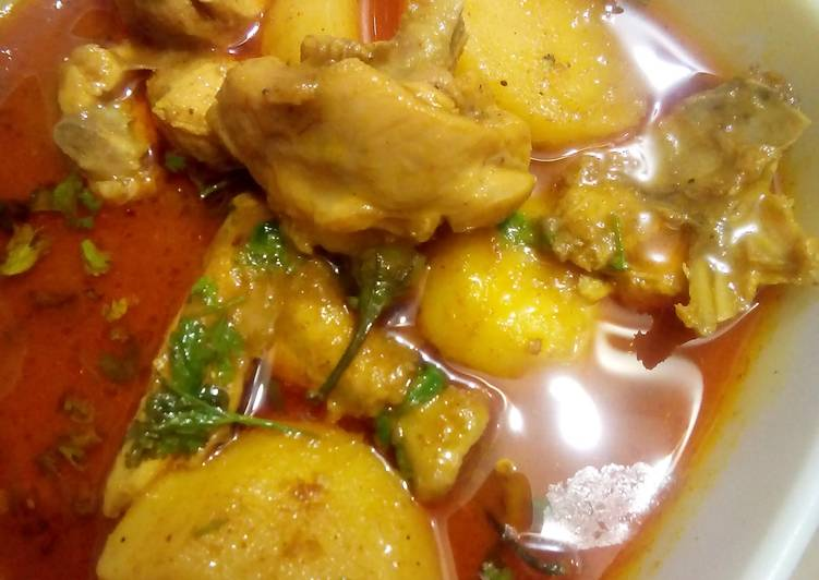 Heaven Chicken Curry by Mom Finding Nutritious Fast Food