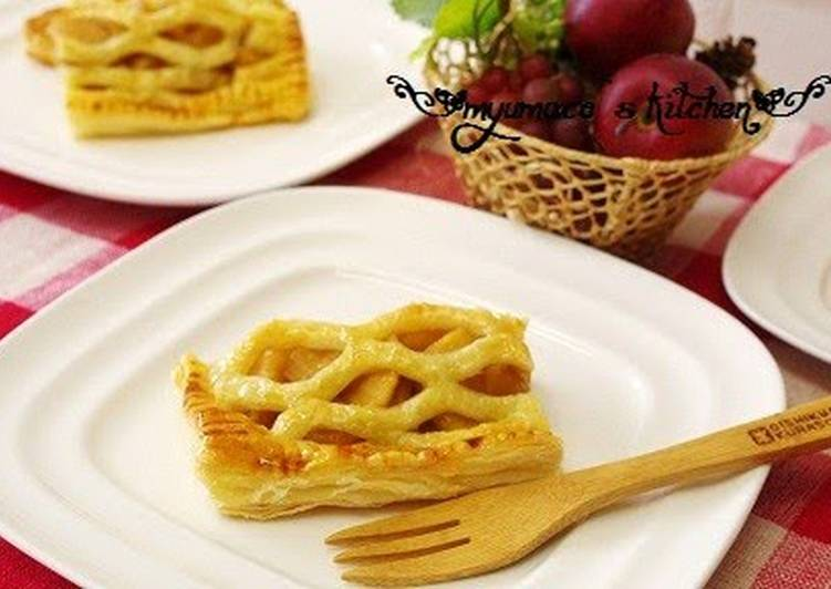 Recipe of Quick Easy Apple Pie with Puff Pastry