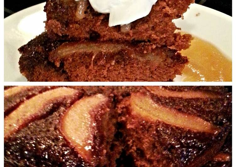 Tinklee's Spicy Pear Cake
