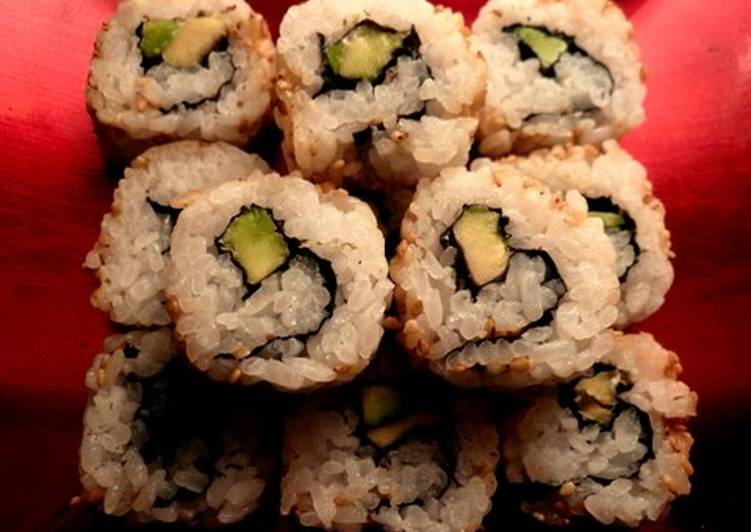Easiest Way to Prepare Award-winning Vegetarian California Rolls