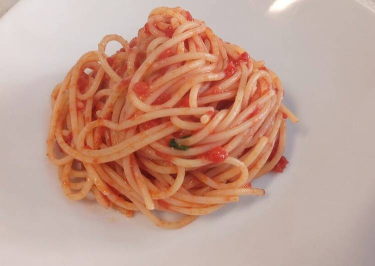 Simple Way to Make Favorite Due spaghetti