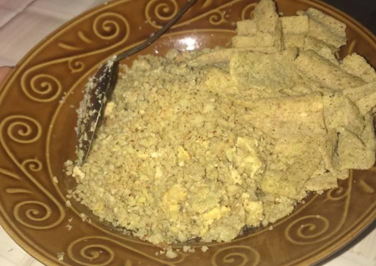 Kembang kol goreng (nasi goreng versi diet)