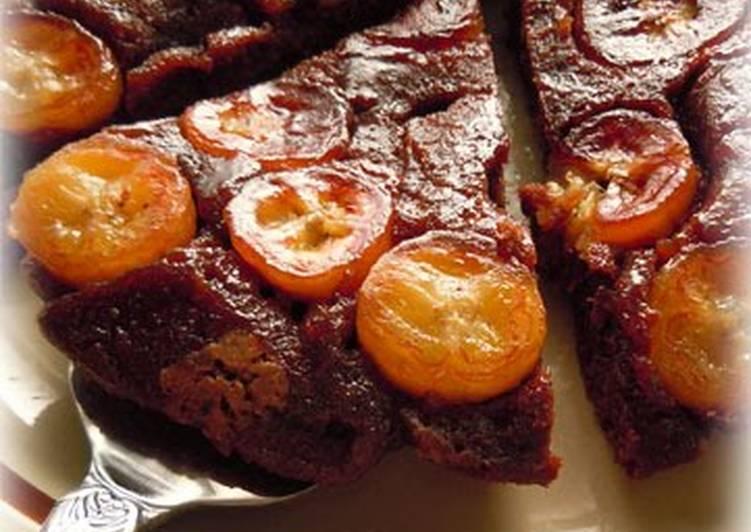 Banana Chocolate Cake Baked in a Frying Pan