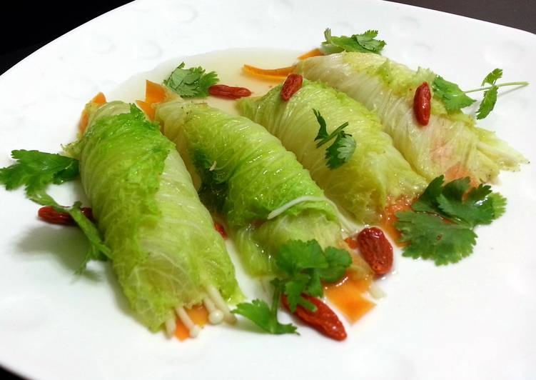 Step-by-Step Guide to Make Perfect Napa Cabbage Roll