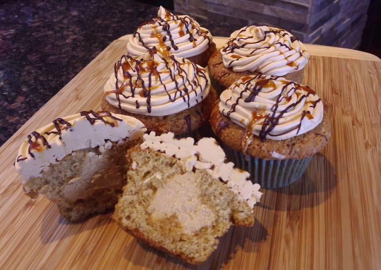 Steps to Prepare Award-winning Cupcakes with Milk Caramel