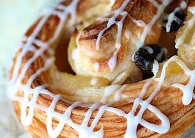 Apple Raisin Danish Pastries
