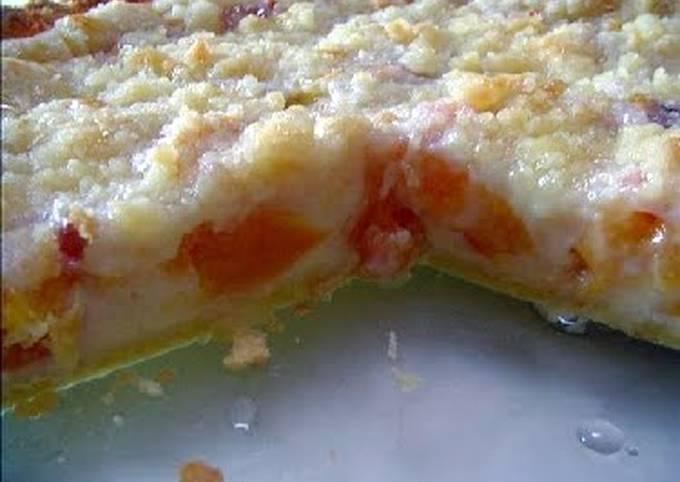 Peaches and Cream Pie Light