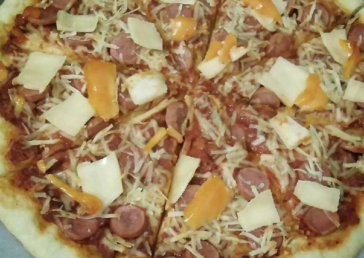 14 Cara Memasak Pizza Tanpa Ulen Knead Teflon Dan Oven Yang Lezat Cookandrecipe Com