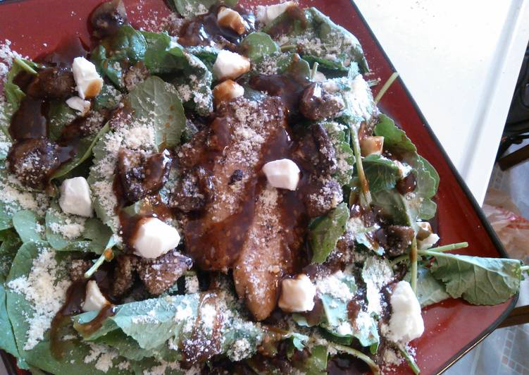 Recipe: Delicious Sesame Ginger Tilapia and Baby Bella Salad