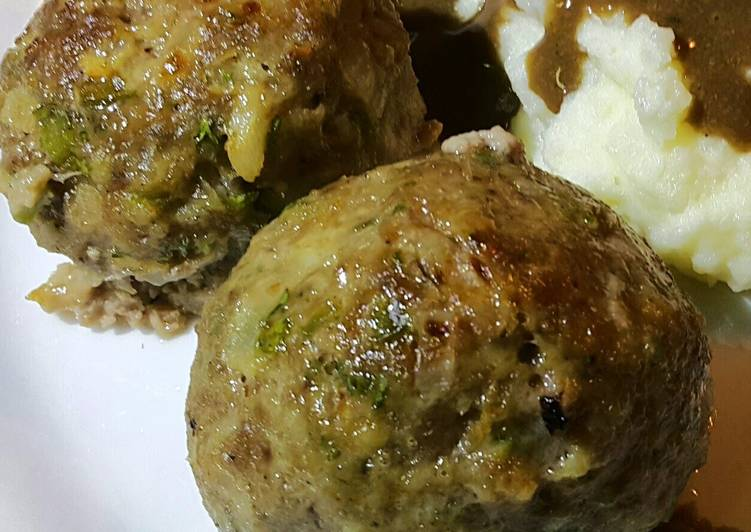 Easiest Way to Prepare Appetizing Easy Oven Baked Meatballs