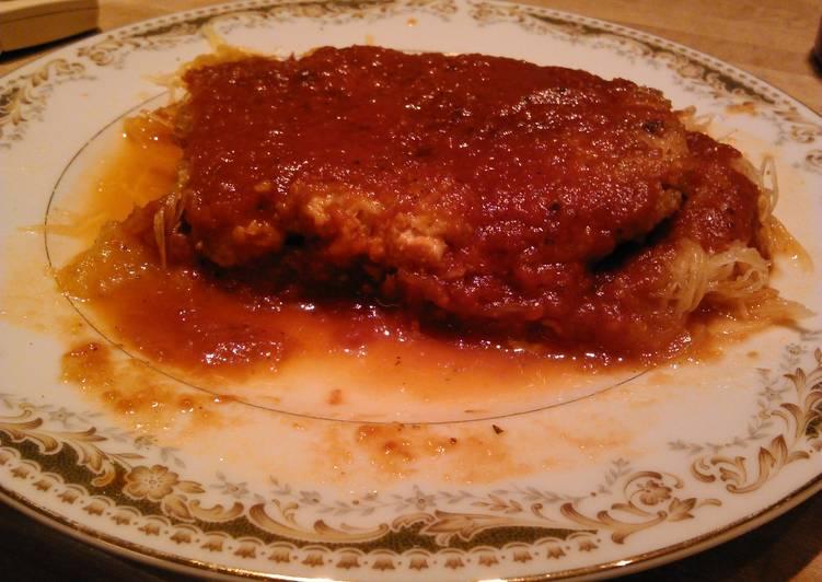 Easiest Way to Prepare Speedy Turkey Parmesan in the garden