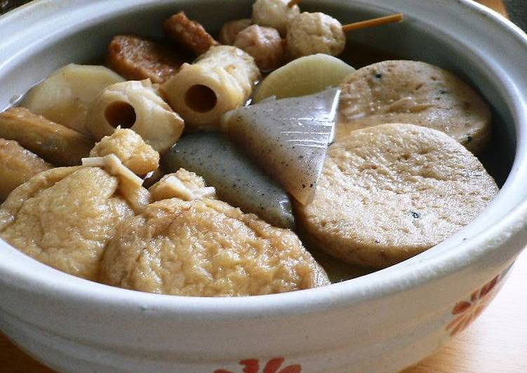 Our Family's Recipe for Oden Soup Stock