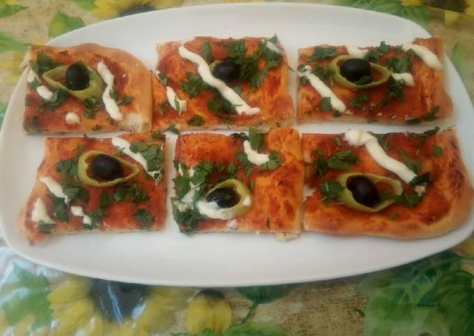 Pizza algérienne