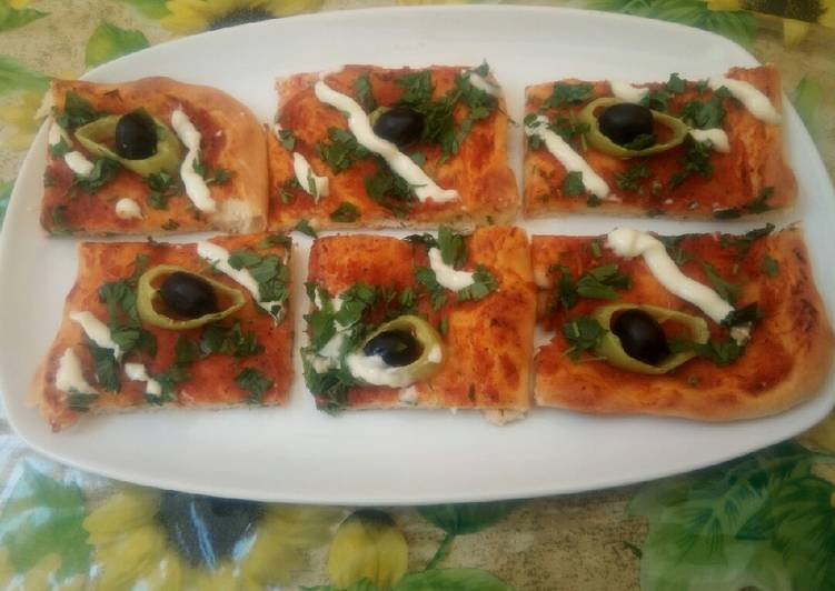 Comment Servir Pizza algérienne