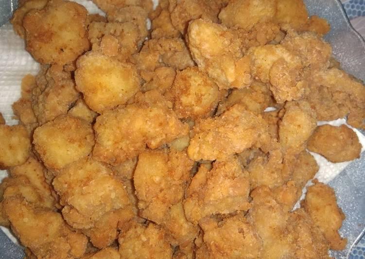 Cara Membuat Ayam pop ekonomis