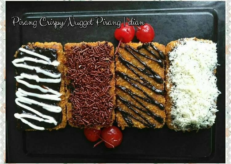 Resep Pisang Crispy Nugget Pisang Oleh Dian Rosdiana Lanesa