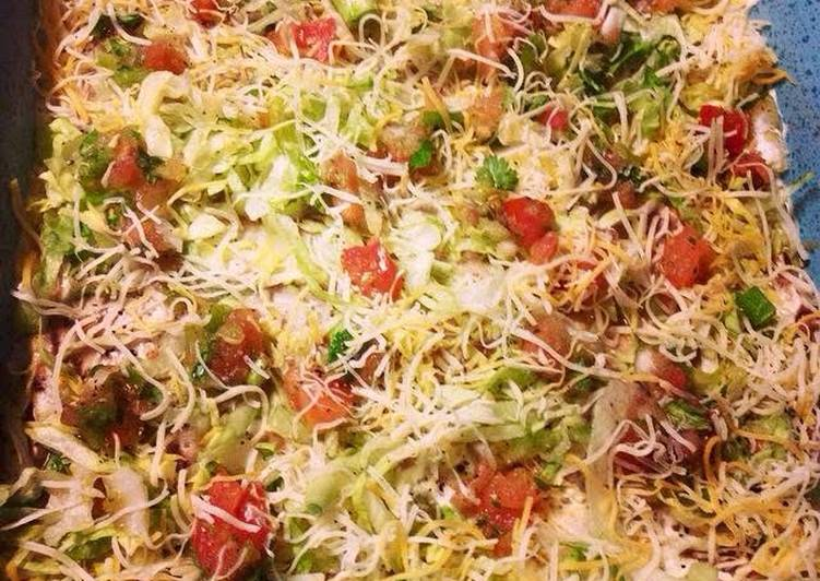 Recipe of Favorite Mexican Layered Dip