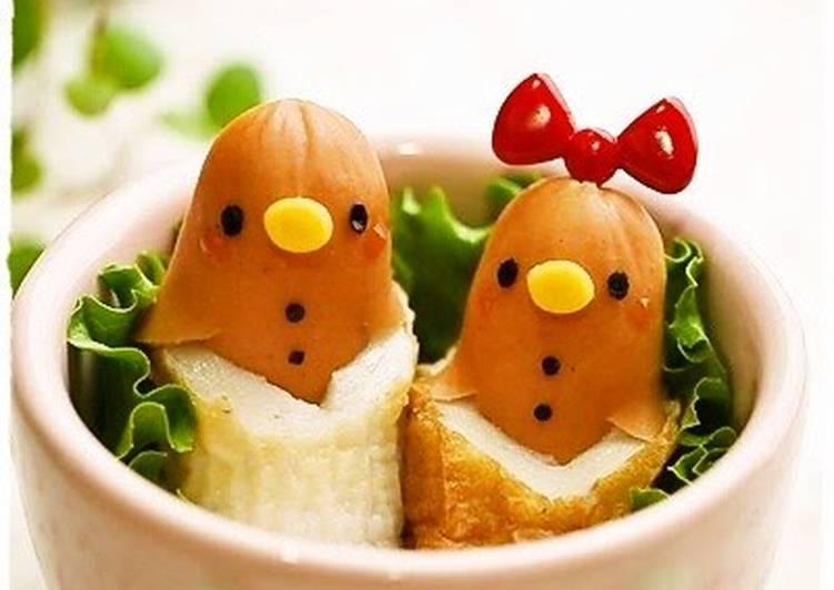 Chikuwa Fish Stick Chicks for Charaben