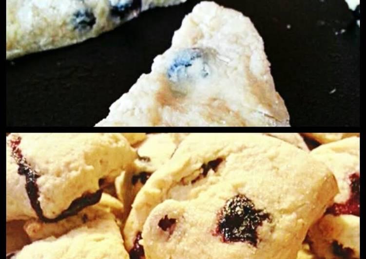 Blueberry Scones*