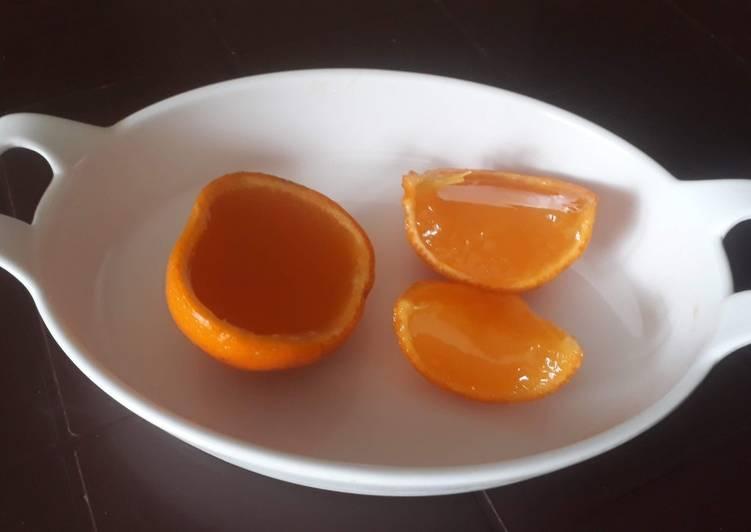 How to Prepare Quick Orange jelly