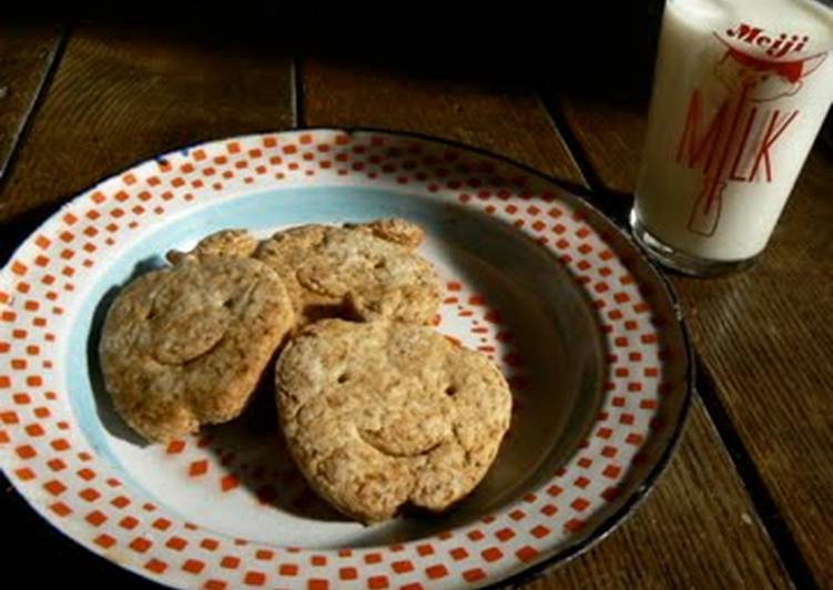Recipe: Perfect Graham Biscuits Vegan-friendly