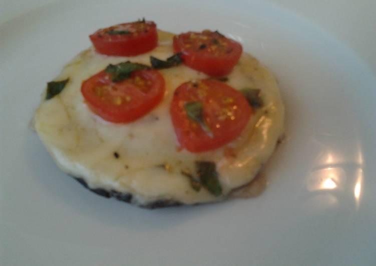 How to Prepare Yummy Ladybirds Portobello Pizza
