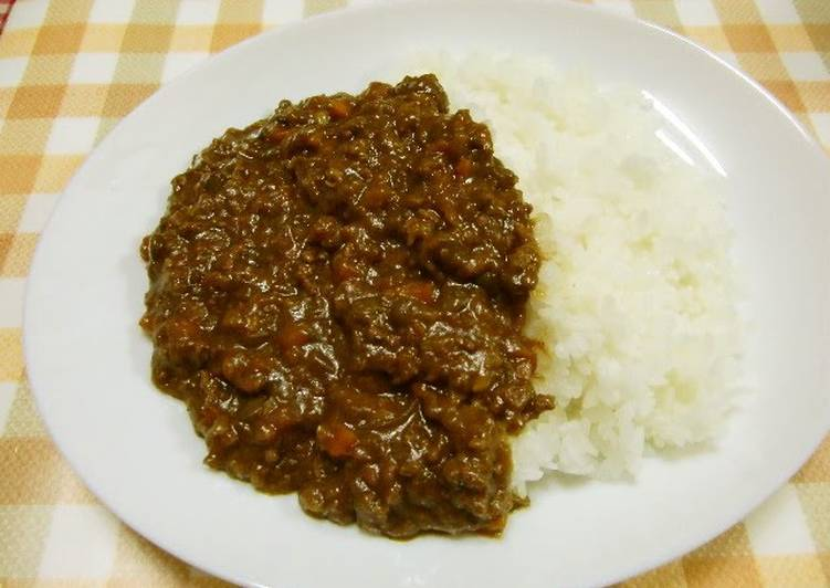 Easy Keema Curry with Lentils Choosing Fast Food That's Fine For You