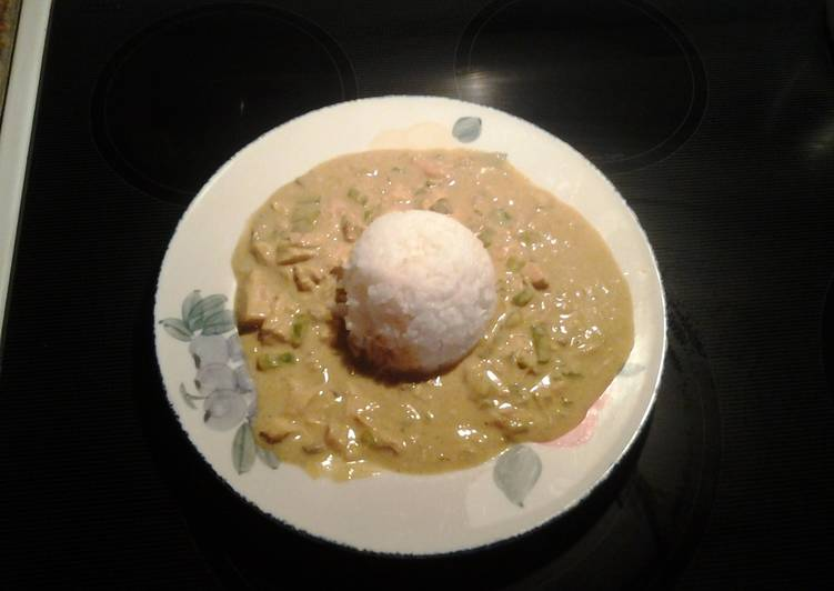 Chicken Curry over Rice Finding Nutritious Fast Food