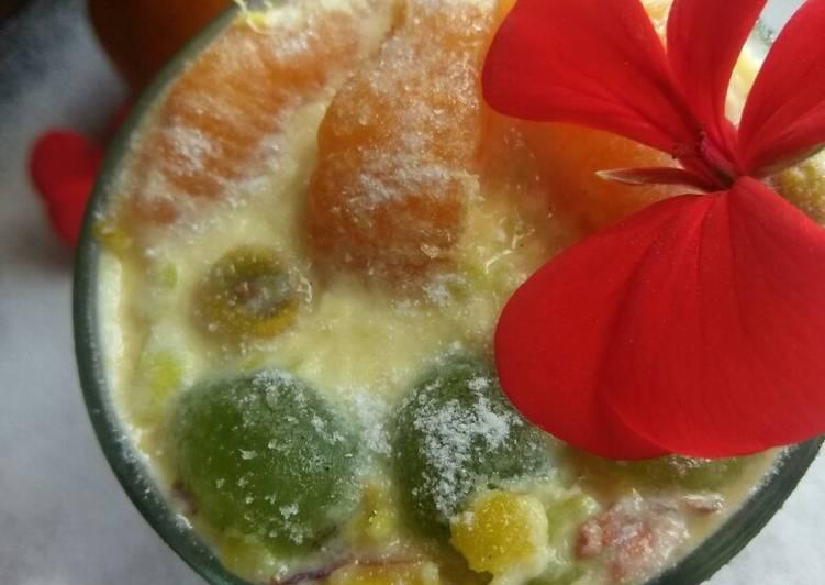 Recipe: Delicious Pista Fruit Ice-cream