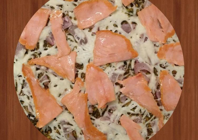 New Secret Smoked Salmon with Zucchini Pizza Crust Free Download
