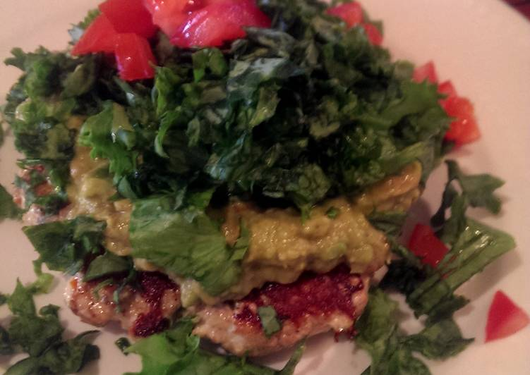 How to Make Appetizing Micah's chili lime, avacado chicken burgers