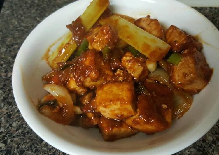 Recipe: Tasty Tofu Manchuria