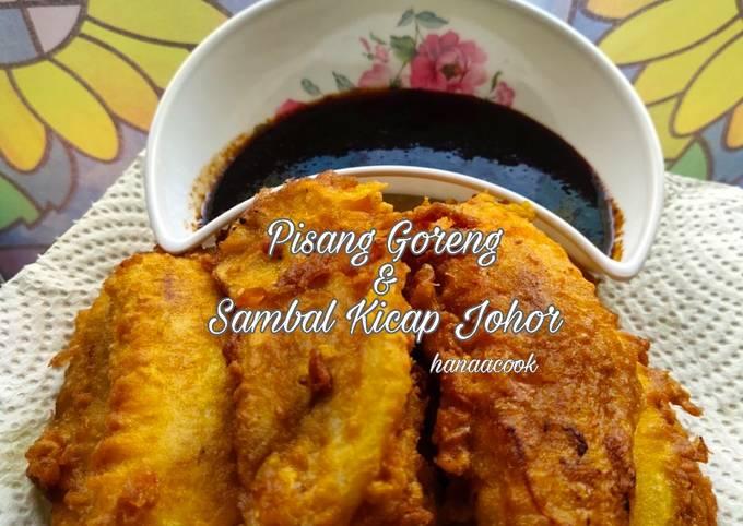Pisang Goreng & Sambal Kicap Johor
