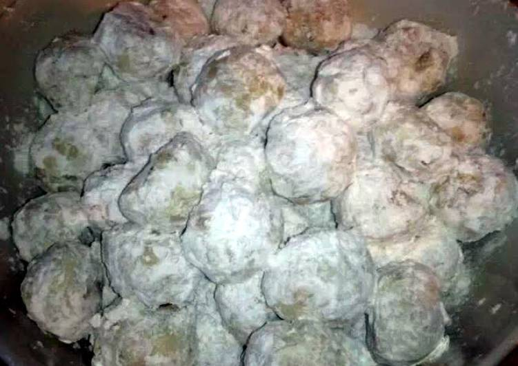 Grandma Smock's Snowball Cookies