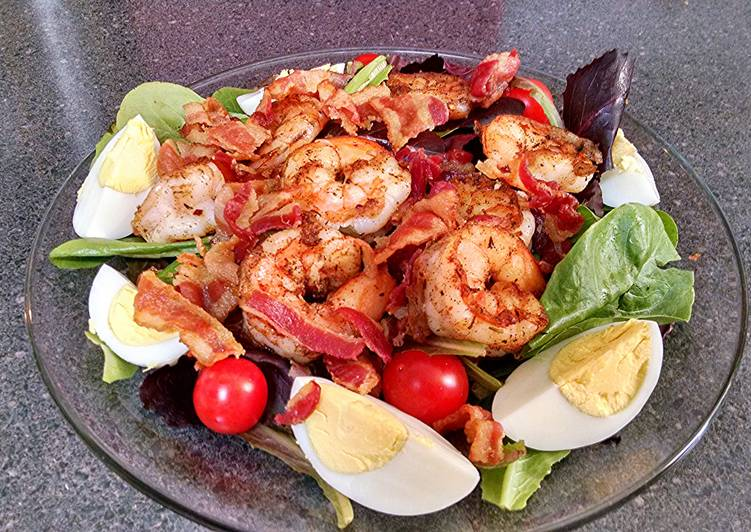 My Shrimp Louie Salad