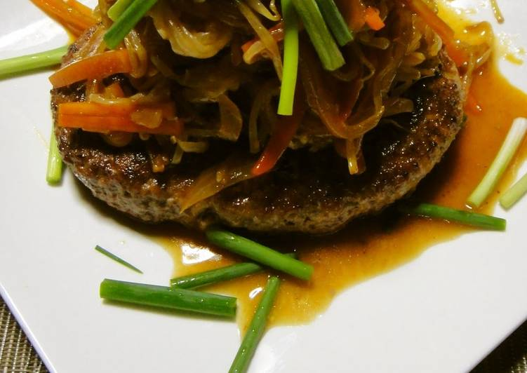 Easiest Way to Make Recipe of A Chef's Recipe for Korean Style Bulgogi Tofu Hamburgers