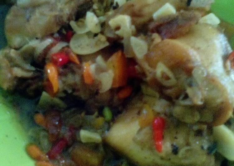 Pecak Ayam Pedasss  (Bumbu Iris & Simpel)
