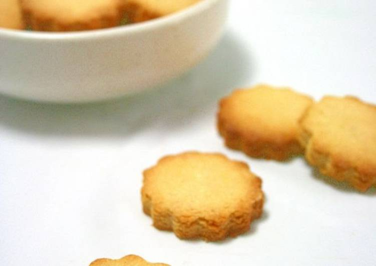 Living Greener for Good Health By Dining Superfoods, Okara Lemon Cookies Made with Vegetable Oil