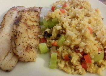 Easiest Way to Recipe Yummy Caribbean Fish and Rice
