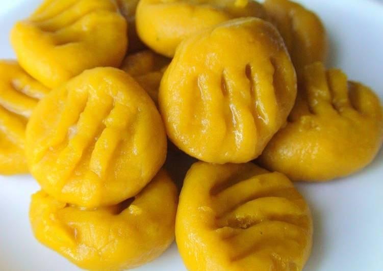 Recipe of Quick Easy Kabocha Squash Gnocchi with 2 Ingredients