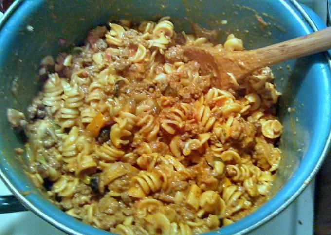 One Pot Pasta Dish