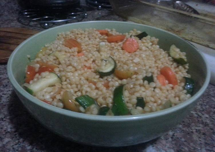 Spicy Couscous with veggies