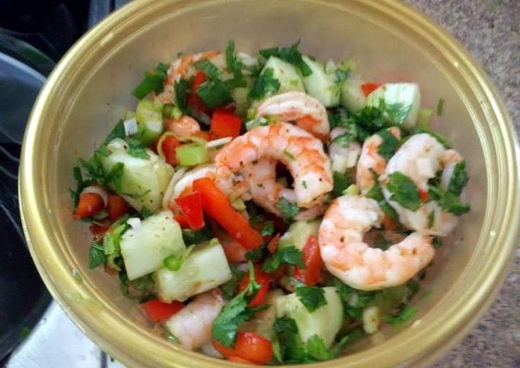 Ray's' Shrimp Botana