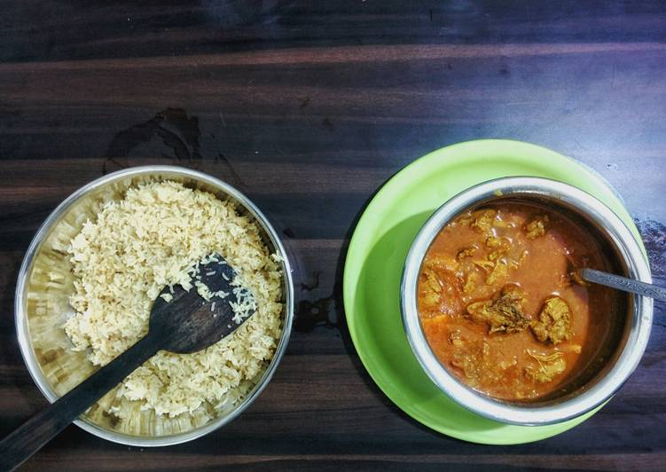 Chicken Curry with Jeera Rice Choosing Fast Food That's Good For You