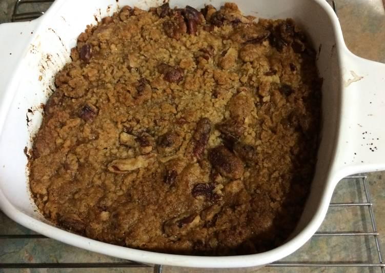 Steps to Make Favorite Sweet Potato Casserole