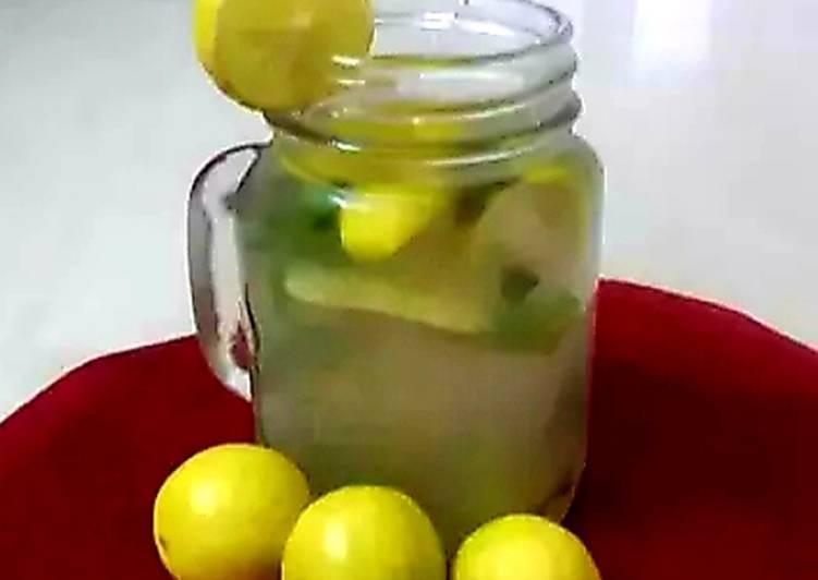 Steps to Make Speedy Lemon mojito