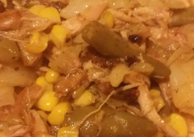 Leftover BBQ chicken fried soup, Helping Your To Be Healthy And Strong with Food